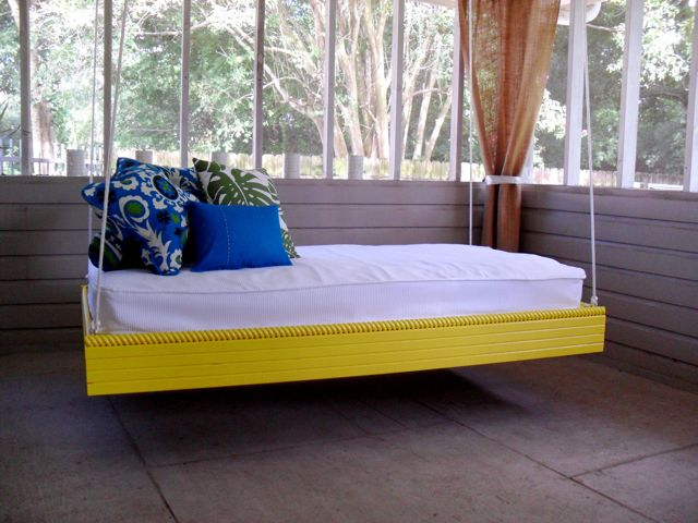 outdoor bed plans
