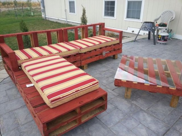 Pallet Bench Ideas Part - 31: Pallet Furniture Plans