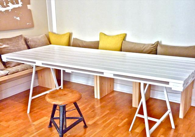 Scrap Hack Dining Table