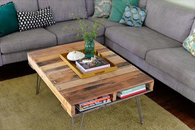 Pallet Coffee Table: