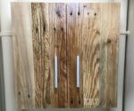 Pallet Cabinet for Toilets and Bathroom