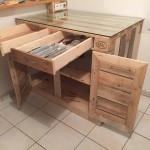 Euro Pallet Kitchen Cabinet