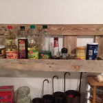 Pallet Kitchen Storage Rack
