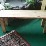 Pallet Bench for Lawn and Garden