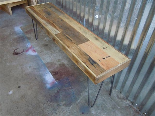 reused-pallet-bench-with-hairpin-legs