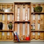 10 DIY Pallet Art Style Shelves