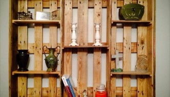 pallet shelf unit