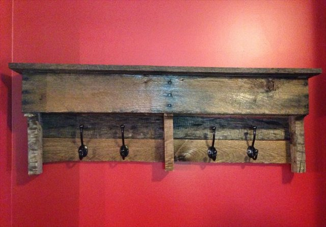 10 DIY Wood Pallet Shelf Ideas | 1001 Pallet Ideas